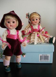 "Vogue 2005 Ginny Vintage Repro Reproduction Dolls – ""Hansel & Gretel"" set"