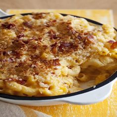 Skillet-Baked Mac And Cheese