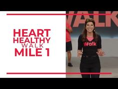 To wrap of Heart Month, here is a brand new Heart Healthy Walk! This is a 1 mile walk with a brand new cast! Aerobic exercise is one of the TOP PROTECTORS of. Beginner Workout At Home, Home Workout Videos, Best At Home Workout, Workout For Beginners, At Home Workouts, Beginner Workouts, Beginner Pilates, Training Workouts, Circuit Training