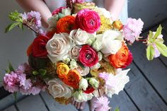 "Chelsea Fuss på Instagram: ""In week 4 of Flower Arranging 101, we make an all…"