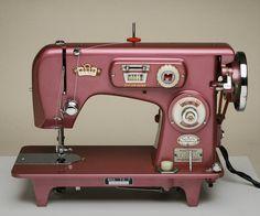 Morse Toyota Fuchsia Zig-Zag Sewing Machine Near-Mint Condition Fully Serviced #MorseToyota