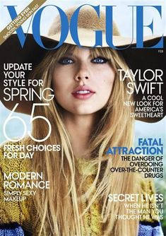 Taylor Swift Vogue Cover Feb 2012