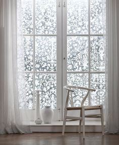 'Venetian Lace' Window Film - V&A Collection | Shop Canvases & Wall Murals at surfaceview.co.uk