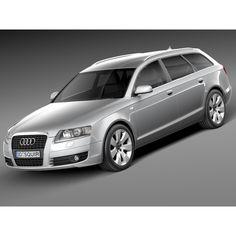 Audi A6 C6 Avant 2005-2008 - 3D Model