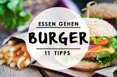 Wir haben euch gefragt: Wo gibt's die schönsten Burger Berlins? Hier kommt die Antwort.