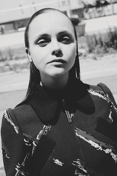 marcjacobs:  Christina Ricci via Dazed Magazine wearing Marc Jacobs Fall'15