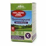 Peak Life Somnapure Natural Sleep Aid, Tablets 60 ct (Quantity of 1)