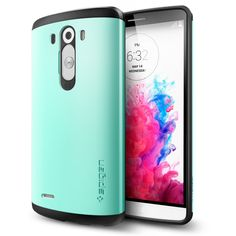 LG G3 Case, Caseology [Drop Protection] LG G3 Case [Turquoise Mint] Slim Fit TPU Cover [Shock Absorbent] Armor Bumper LG G3 Case (for LG G3 Verizon, AT&T Sprint, T-mobile, Unlocked):Amazon:Cell Phones & Accessories