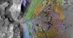 Os cientistas têm descoberto mais evidências de que um enorme oceano cobria grande parte de Marte à biliões de anos atrás, na superfície do planeta.