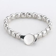 Casual Silver Square Affordable Bracelet — MUSEUM OUTLETS