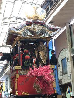 Otsu shiga Japan  西王母山 大津祭本祭