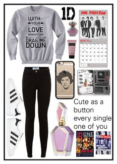 """""""#218 one direction"""" by xjet1998x ❤ liked on Polyvore featuring adidas Originals and Casetify"""