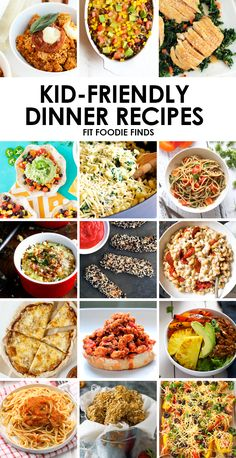 School is right around the corner! Work these healthy kid friendly dinner recipes into your meal planning for a seamless transition into the school year.