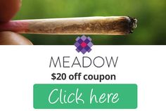Get affordable marijuana by using Meadow Promo code Meadow and save $20 off your total bill.  #Meadowpromocode