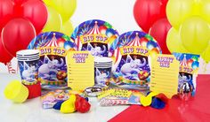 Circus Deluxe Party in the Box  $39.95 caters for 8 guests