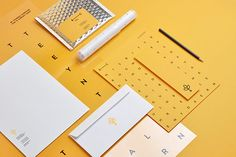 Diverse branding materials developed by Warsaw, Poland based studio Noeeko.