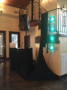 Marquardt Ranch with vertical lighting and black skirting Stage Lighting, Ranch, Lights, Black, Guest Ranch, Highlight, Black People, Lighting, Light Fixtures