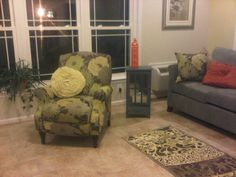 Janice Used This Recliner As Inspiration For Her Sunroom She Found It At The Homegoods In Md Waldorf Marketplace