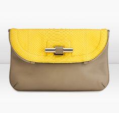 Jimmy Choo | Jasmine | Anaconda and Leather In Hand Clutch Bag | JIMMYCHOO.COM