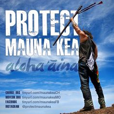WE ARE MAUNA KEA! Please go now sign the petition ✊ #protectmaunakea #maunakea…