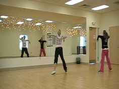 ▶ Carly And Janelle Zumba Rock This Party Warm Up - YouTube