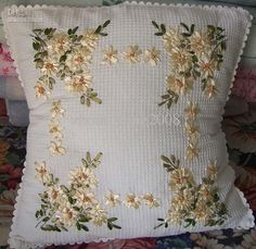 Cheap pillow cover cotton, Buy Quality pillow cushion directly from China pillow cotton Suppliers: Fabric: cottonProcess: handmade ribbon embroidery1.please note: products only sold cushion cushion cover, cushion core i