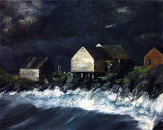 Robert Henri - Storm Tide - 1903