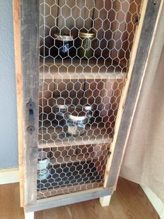 Rustic Jelly Cabinet By Beeechic On Etsy, $299.00