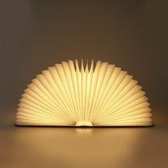 Lumiosf ルミオエスエフ/book lamp(ブックランプ)/あたたかみのある光です