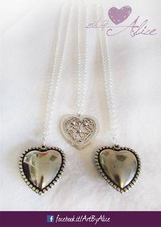 collana con ciondolo a cuore ArtByAlice