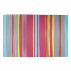 Tapis d'extérieur en polypropylène multicolore 180 x 270 cm RIO