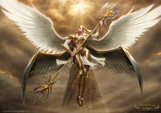 Tempest Seraph by NateHallinanArt.deviantart.com on @DeviantArt