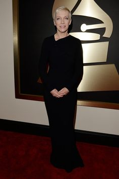 Annie Lennox at the 2015 #GRAMMYs