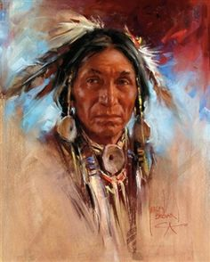 Artwork by Harley Brown, Bitterroot Chief, kK Native American Face Paint, Native American Tattoos, Native American Girls, Native American Paintings, Native American Pictures, Native American Beauty, Native American Artists, American Indian Art, American Indians