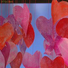 #ClintonsCraftCorner: Valentine's Day Paper Garland! #TheChew #ValentinesDay #ValentinesDayDecor #ValentinesDecorations #ValentinesDayCraft #DIY #Craft