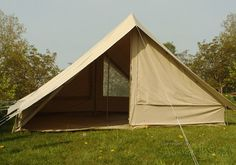 A Deluxe Classic Canvas Scout Tent a modern take on the original ridge scout tent. & Deluxe Ridge Tent Get More Information About Deluxe Ridge Pole ...