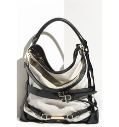 Main Image - Burberry Belted Hobo