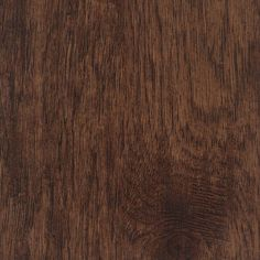 Home Legend 7-1/16 in. x 48 in. x 6 mm Hand Scraped Distressed Tavern Hickory Vinyl Plank Flooring (23.64 sq. ft. / case), Dark Brown/Hs Distressed