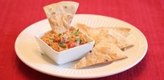 Lisa's Dinnertime Dish for Great Recipes! – Sausage Cheese Dip with Baked Tortilla Chips