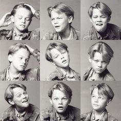 a young leo showing off his emotional range