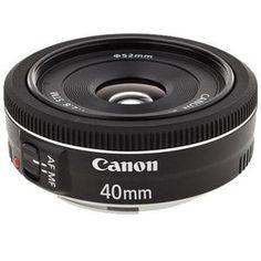 """Canon EF 40mm f/2.8 STM Pancake Lens - """" Open box $119.00"""