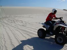 By far the most exciting thing on 4 wheels, Quad Biking Cape Town on the sand dunes is a rush like no other. Quad Bike, Adventure Tours, Cape Town, Biking, Gallery, Quad, Cycling, Adventure Travel, Bicycling