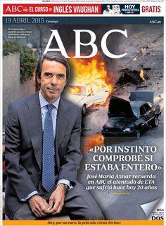 Diario ABC de 19 Abril 2015 y recordamos que pueden visualizar cada día los principales titulares en http://www.youtube.com/vendopor