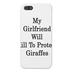 >>>The best place          My Girlfriend Will Kill To Protect Giraffes iPhone 5 Cases           My Girlfriend Will Kill To Protect Giraffes iPhone 5 Cases We have the best promotion for you and if you are interested in the related item or need more information reviews from the x customer who a...Cleck Hot Deals >>> http://www.zazzle.com/my_girlfriend_will_kill_to_protect_giraffes_iphone_case-256818674078118268?rf=238627982471231924&zbar=1&tc=terrest