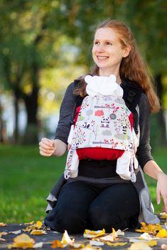 ... und genieße die Vorteile des bequemen Tragens ab Geburt.  #buzzidil #babytrage #babytragen Fashion Backpack, Backpacks, Bags, Pandas, Benefits Of, Birth, Handbags, Taschen, Women's Backpack