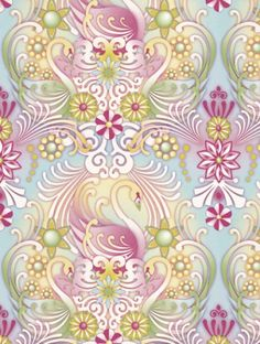 Cosne  is taken from Paper Moon's Catalina Estrada wallpaper collection.
