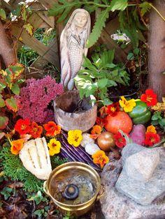 giving thanks to land spirits