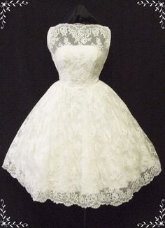 50s wedding dress. I think this is the one ?