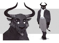 """""""Hugo Cromelon, Minotaur Artificer, a super dooper important npc from Otho's backstory / current campaign events. Character Creation, Fantasy Character Design, Character Design Inspiration, Character Concept, Character Art, Concept Art, Dungeons And Dragons Art, Dungeons And Dragons Characters, Dnd Characters"""