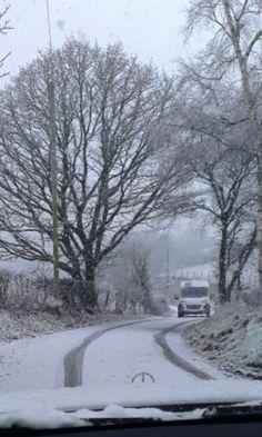 Snow at Bala